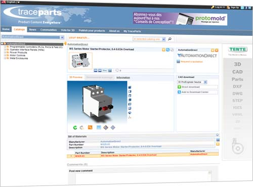 AutomationDirect com Adds 3D Product Models to Web Site using