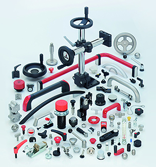 Part of the range of Ganter which includes around 50 000 parts
