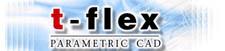 t-flex parametric cad logo