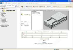 The CAD data were perfectly integrated into tracepartsonline.net