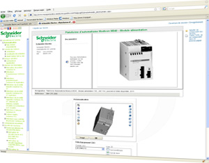 In the TraceParts.com Parts library you can download CAD files of Schneider Electric