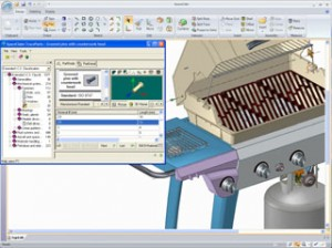 Seamless integration of TraceParts with SpaceClaim Professional 2007