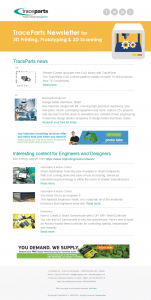 Newsletter dedicated to 3D Printing, Prototyping & 3D Scanning