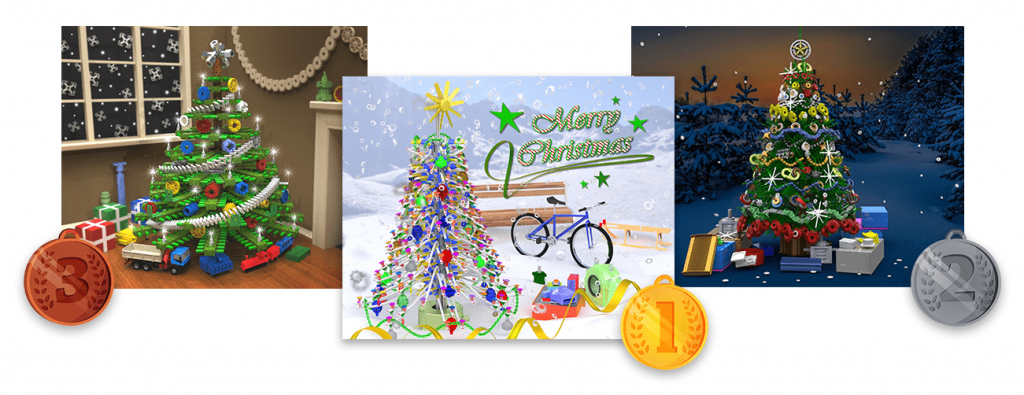 winners of the 12th Christmas design contest